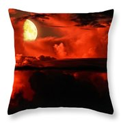 Cloud Rider  Throw Pillow