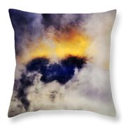 Cloud Sculping Throw Pillow