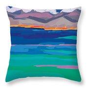 Cloud Sea View Throw Pillow