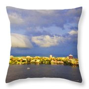 Cloud Shelf  Throw Pillow