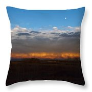 Cloud Spectrum Throw Pillow