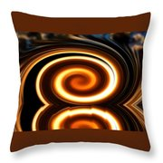 Cloud Spin Throw Pillow