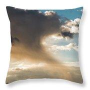 Cloud Tail Throw Pillow