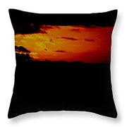 Clouded From The Sun Throw Pillow