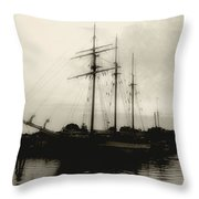 Clouding Up Throw Pillow