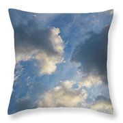 Clouds 03.26.2017 7061t Throw Pillow