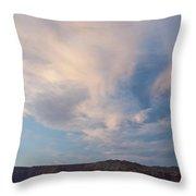 Clouds 0505 Throw Pillow