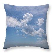 Clouds 2017-1 Throw Pillow