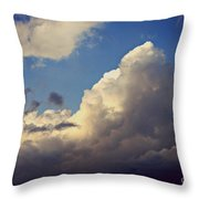 Clouds-3 Throw Pillow