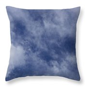 Clouds 5 Throw Pillow