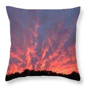 Clouds 55 Throw Pillow