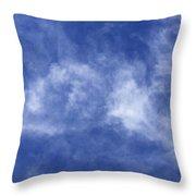 Clouds 6 Throw Pillow