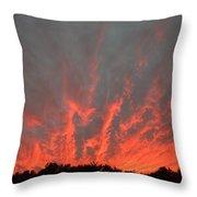 Clouds 63 Throw Pillow