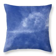 Clouds 7 Throw Pillow