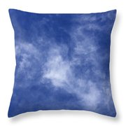Clouds 9 Throw Pillow