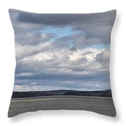 Clouds After The Storm Throw Pillow