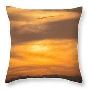 Clouds Ahuachapan 2 Throw Pillow