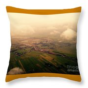 Clouds And Mist - Amsterdam Throw Pillow