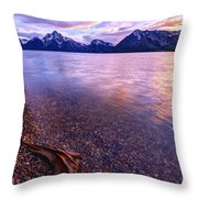 Clouds And Wind Throw Pillow
