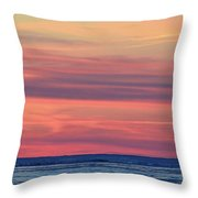 Clouds At Sunrise Two  Throw Pillow