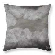 Clouds For Mary Beth Throw Pillow