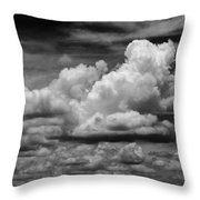 Clouds I I Throw Pillow