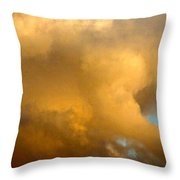 Clouds Illusions Throw Pillow