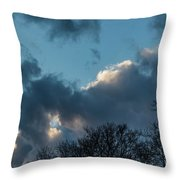 Clouds In Afternoon 20170326 7199 Throw Pillow