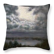 Clouds Number Seven Throw Pillow
