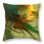 Clouds Of Color Throw Pillow