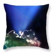 Clouds Of Faith Throw Pillow