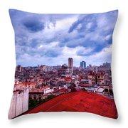 Clouds Over Havana Throw Pillow