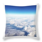 Clouds Over Ireland Throw Pillow