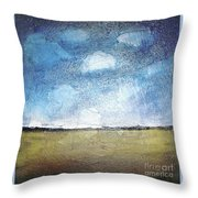 Flying Clouds Throw Pillow