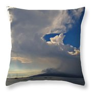 Clouds Rising Throw Pillow