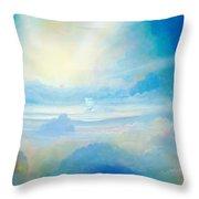 Cloud's Sea Throw Pillow