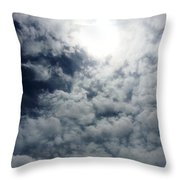 Heaven's Eye Throw Pillow