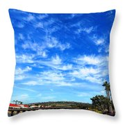 Clouds That Whisper2 Throw Pillow