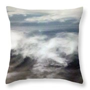 Clouds Tides Throw Pillow