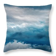 Clouds Two Throw Pillow