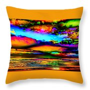 Clouds With Attitude Throw Pillow