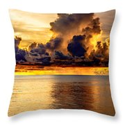 Clouds Within The Clouds Throw Pillow