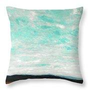 Cloudscape B Throw Pillow