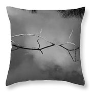 Cloudy Bridge Throw Pillow