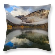 Cloudy Convict Throw Pillow