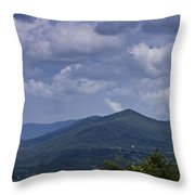 Cloudy Day In Virginia Throw Pillow
