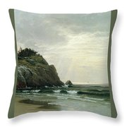 Cloudy Day Throw Pillow