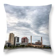Glass Cloud Throw Pillow