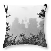 Cloudy View Throw Pillow