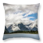 Cloudy With A Chance Of Beautiful Photo Throw Pillow